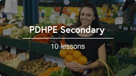 Remote teaching secondary pdphe