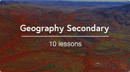 Remote teaching secondary geography