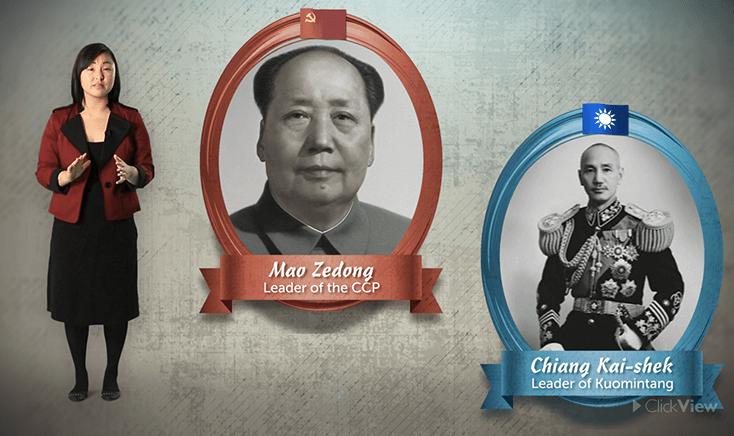 Events of China's Communist Revolution