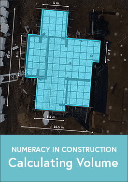 Numeracy in Construction - Calculating Volume  -image