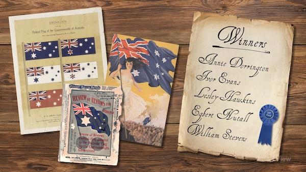 Australian Flag Miniclip