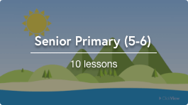 Remote teaching senior primary