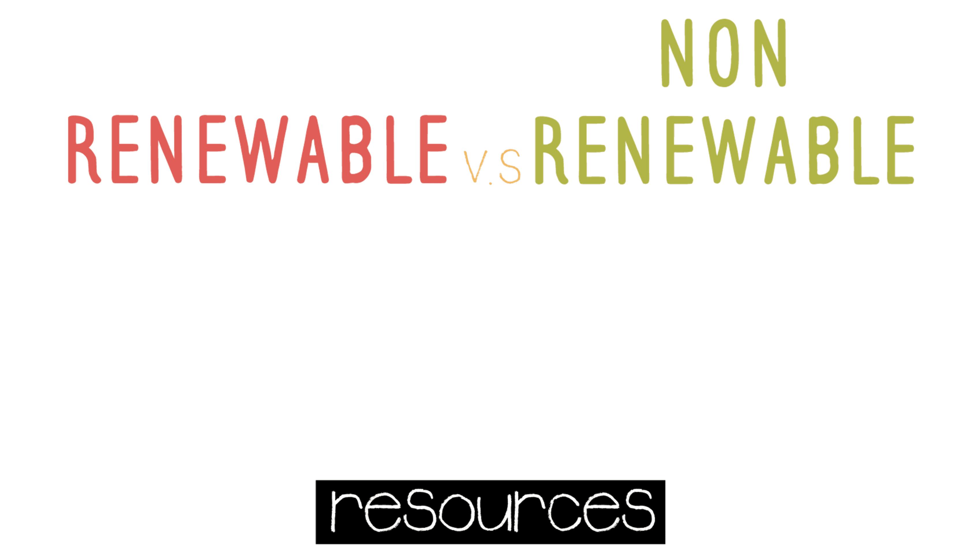 Year 7 - Renewable and Non-Renewable Energy Presentation