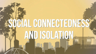 Social Connectedness and Isolation  thumbnail image