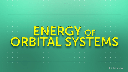 Energy of Orbital Systems  thumbnail image