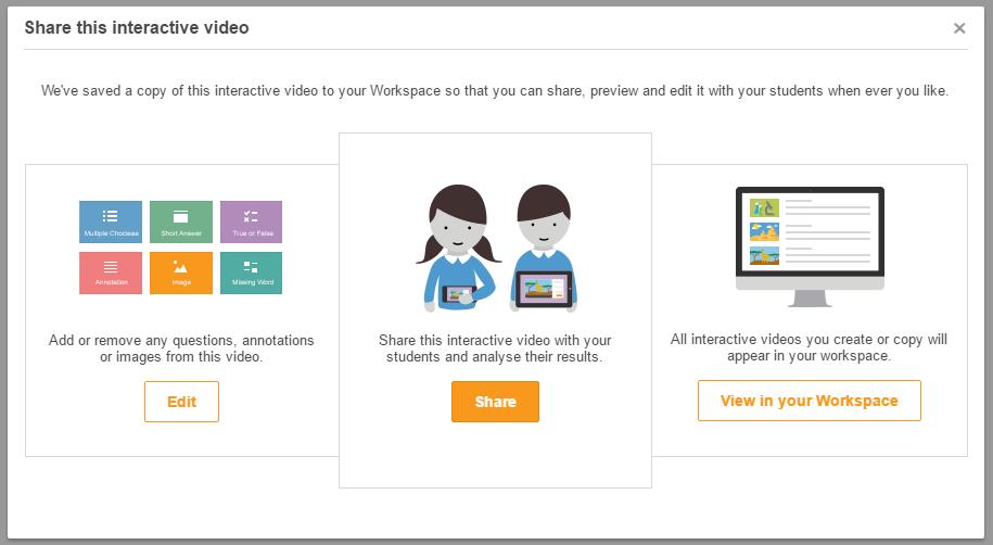 Share ClickView Interactive Videos